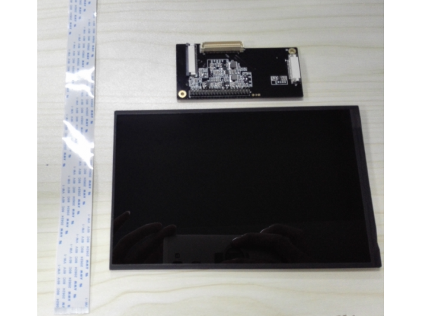 96Boards Mezzanine LCD Kit|A LCD display panel and an adapter board ...